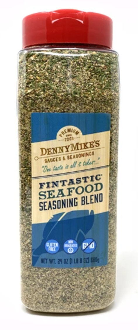 Denny Mike's Fintastic Seafood Seasoning