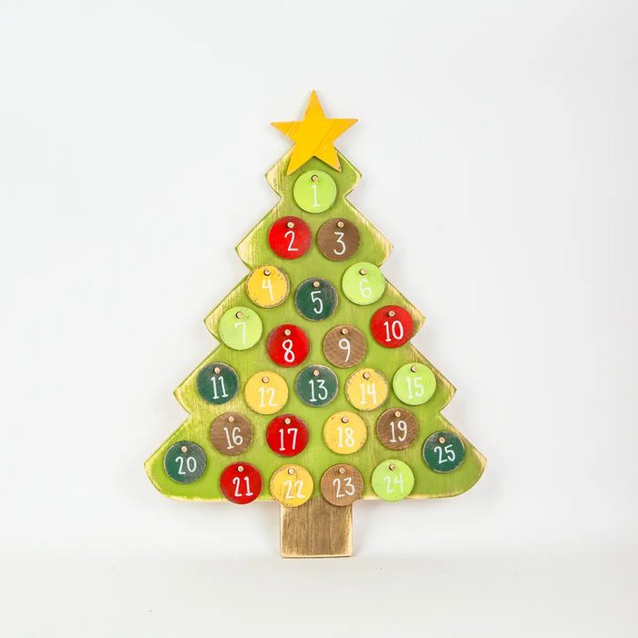 Advent Christmas Tree 24""