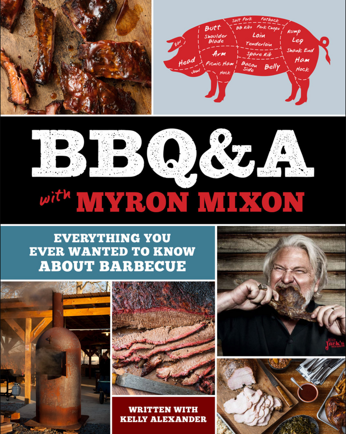 BBQ&A with Myron Mixon Book