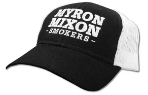 Myron Mixon Trucker Cap – Black/White