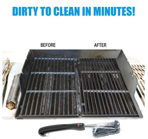 360° Clean Grill Brush 18""