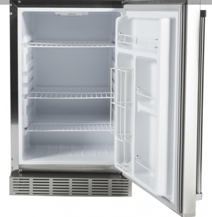 Coyote 21-Inch 4.1 Cu. Ft. Right Hinge Outdoor Rated Compact Refrigerator - CBIR