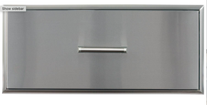 Coyote 36-Inch Single Storage Drawer - CSSD36