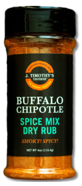 J Timothy's Buffalo Chipotle Dry Rub/ Spice Mix