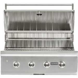 Coyote C-Series 36-Inch 4-Burner Built-In Propane Gas Grill - C2C36LP