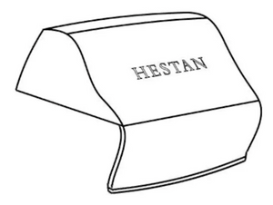 Hestan Grill Cover For 42-Inch Built-In Grill - AGVC42