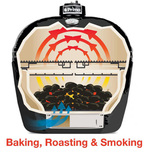 Primo Oval Junior Ceramic Kamado Grill $957.00