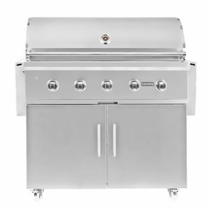 "Coyote C-Series 42-Inch 5-Burner Propane Gas Grill - C2C42LP + C1S42CT ""In Stock 1/2/2021"""