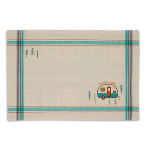 Camper Embellished Placemats Mixed Dozen