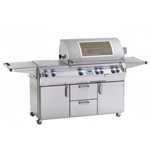 Fire Magic E790s-8L1N(P)-71-W Echelon Diamond Series Grill on Cart with Double Side Burner, One Infrared Burner, Digital Thermometer, Magic View Window, Rotisserie, Propane $9,997.00