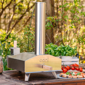 Ooni 3 Portable Outdoor Wood-Fired Pellet Pizza Oven - $267.97 (Only 4 left Order Now)