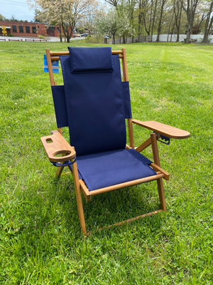 Cape Cod Beach Chair Nauset (Navy Blue)
