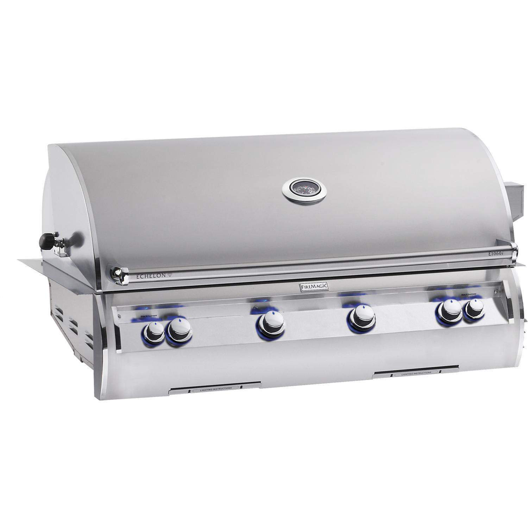 Fire Magic Echelon Diamond E1060i 48-Inch Built-In Natural Gas Grill With One Infrared Burner And Analog Thermometer - E1060i-4LAN $8,557.00