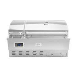 Louisiana Grills Estate Series 860 sq in 304 Stainless Steel Built-In Pellet Grill - LG ESTATE 860BI