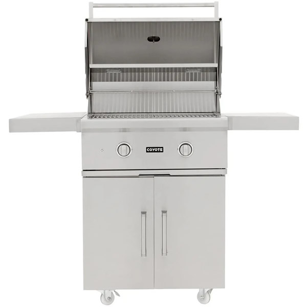 "Coyote C-Series 28-Inch 2-Burner Propane Gas Grill - C1C28LP-FS $1,497.00 ""In Stock 1/2/2021"""