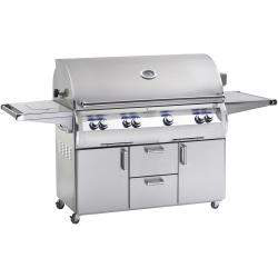 Fire Magic Echelon Diamond E1060s 48-Inch Propane Gas Grill With One Infrared Burner, Analog Thermometer And Single Side Burner - E1060s-4LAP-62 $11,147.00