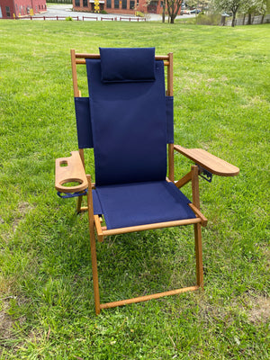 Cape Cod Chair- Nauset Heights (Navy Blue)