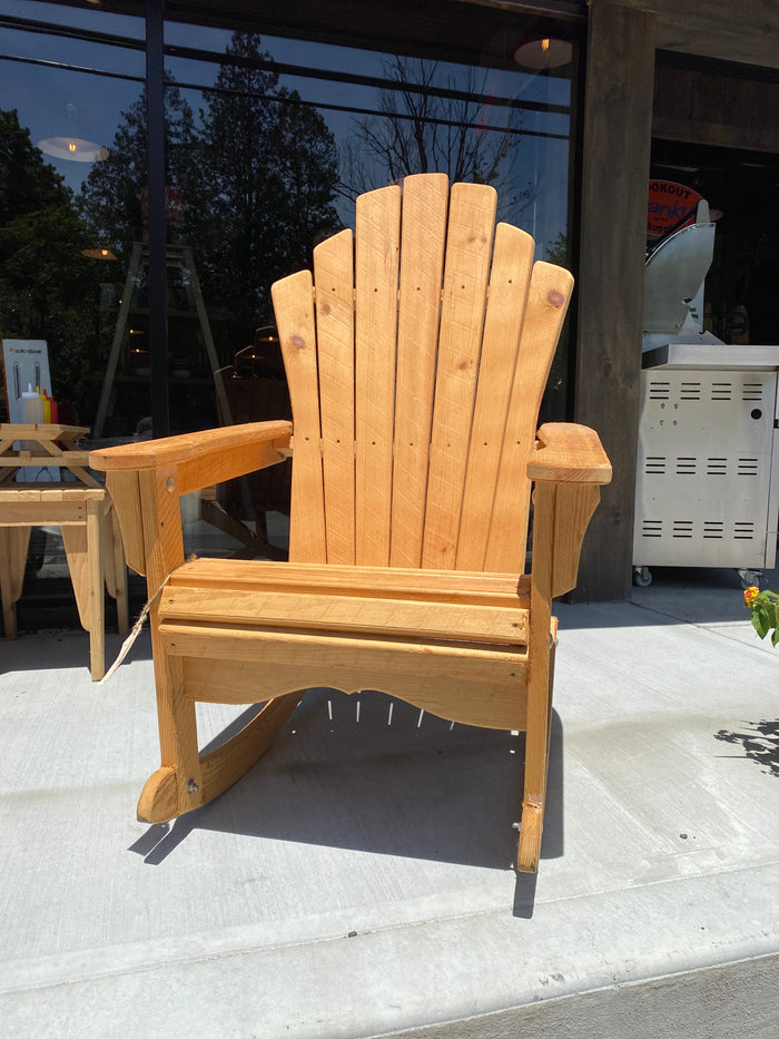 Adirondack Rocking Chair Pine $327.97
