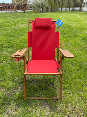 "Cape Cod Chair- Nauset Heights (Red) ""Buy 1 Get 1 50% OFF"""