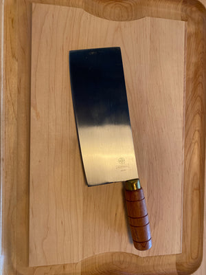 Mundial Chinese Chef's Knife Wood 8""