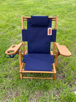 Cape Cod Beach Chair Nauset Kids (Navy Blue)