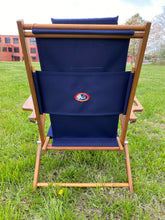 Load image into Gallery viewer, Cape Cod Beach Chairs Nauset Embroidered Flag (Navy Blue)