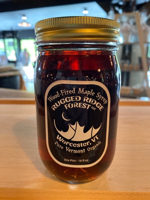 Rugged Ridge Forest Grade A Pure Dark Maple Syrup 16oz.