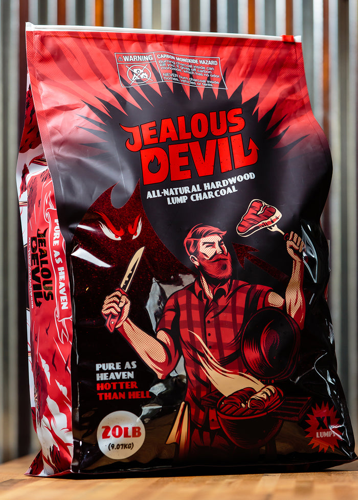 Jealous Devil - Lump Charcoal - 8lbs