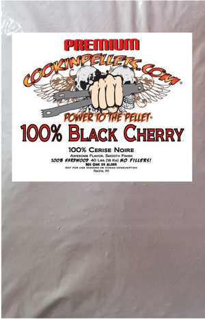 Premium Cooking Pellets 40 lb Bag 100% Black Cherry Pellets $36.97
