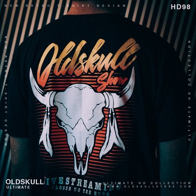 T-Shirt OLDSKULL Ultimate N°99 - Buffalo - Vintage USA OBAWI Tee-shirts store