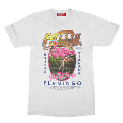 T-Shirt OLDSKULL Express HD N°122 - Flamingo - Nature/Animal OBAWI Tee-shirts store