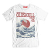 T-Shirt OLDSKULL Express OS N°16 - Japan Great Wave - Japanese Style OBAWI Tee-shirts store