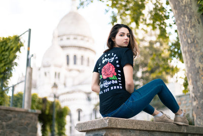 T-Shirt OLDSKULL Ultimate N°96 - Rose - Vintage USA OBAWI Tee-shirts store