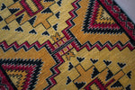 Vintage Navajo Pakistani rug handmade with naturally dyed wools