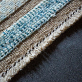 Modern Afghan Barjasta rug handmade with naturally dyed wools details