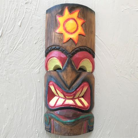 12in Sun Tiki Mask by Caribbean Rays