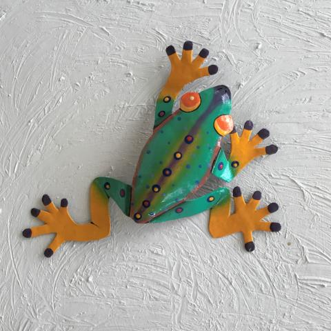 13in Gabrielle Tree Frog Wall Decor by Caribbean Rays