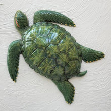 15in Resin Green Sea Turtle Wall Decor by Caribbean Rays