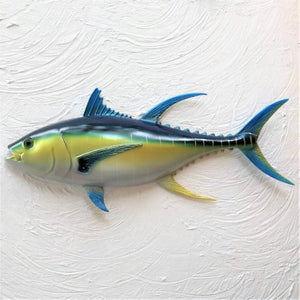 18in Resin Blue Fin Tuna Wall Decor by Caribbean Rays