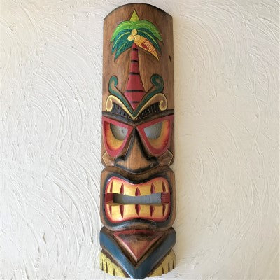 20in Palm Tree Tiki Mask by Caribbean Rays