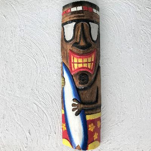20in Surfer Tiki Mask by Caribbean Rays