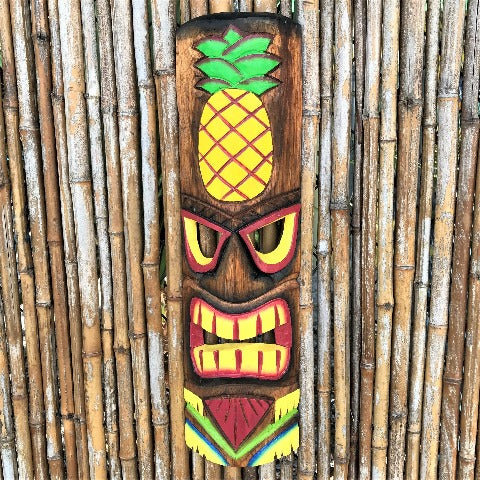 20in Pineapple Tiki Mask by Caribbean Rays