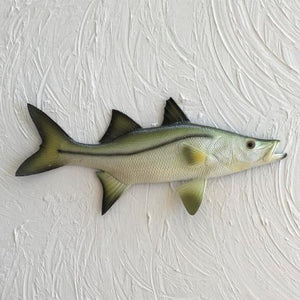 Resin Snook Wall Decor by Caribbean Rays