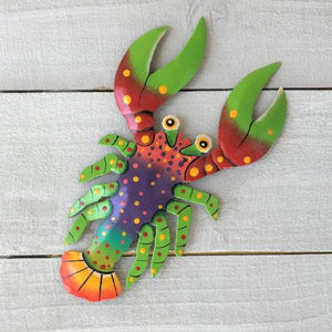 Freddy the Funky Lobster Wall Art by Caribbean Rays