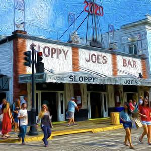 Joe's NYE 2020 Canvas Giclee Print Wall Art by Caribbean Rays