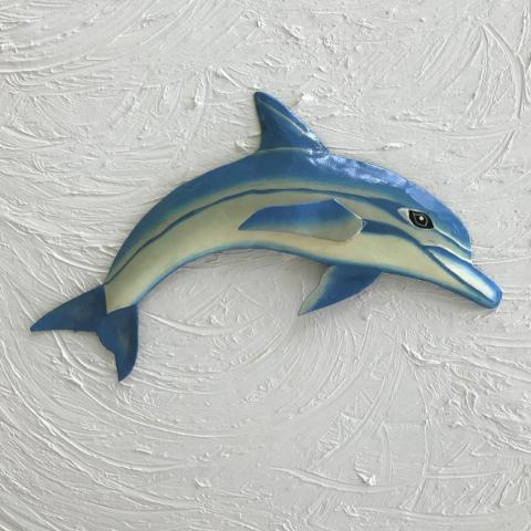 Metal Dolphin Wall Decor by Caribbean Rays