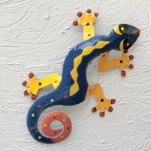 Danny Metal Gecko Wall Decor by Caribbean Rays