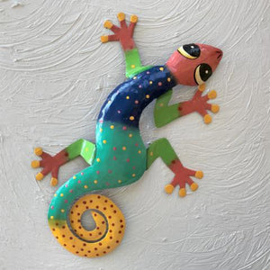 Eli Metal Gecko Wall Decor by Caribbean Rays