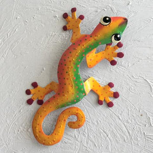 Jamaican Jack Island Gecko Metal Wall Decor by Caribbean Rays
