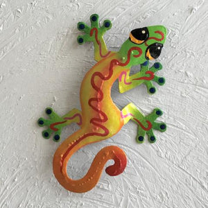 Key West Sally Island Gecko Metal Wall Art by Caribbean Rays